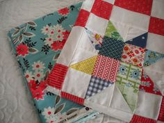 A Quilting Life - a quilt blog: A Quilt in Progress