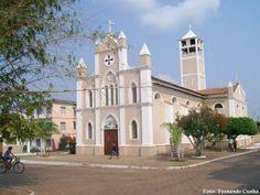 Igreja católica do Município de Carolina, Maranhão, Brazil