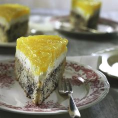 Poppy seed cake with apple dome – Recipes Poppy Seed Cake, Austrian Recipes, Apple Cake Recipes, Pampered Chef, Healthy Breakfast Recipes, Chocolate, No Bake Cake, Cake Cookies, Sweet Recipes