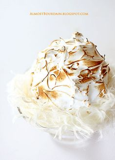 baked alaska with pOpcOrn ice cream