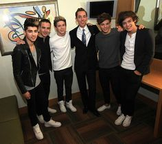 1D at The Late Late Night Show ....