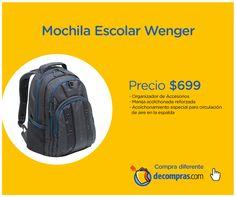 Regresar a clases será más fácil con esta mochila