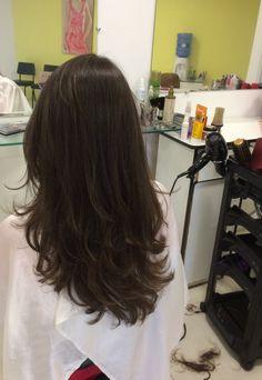 Cut My Hair, Hair Cuts, Hair Inspo, Hair Inspiration, Medium Hair Styles, Short Hair Styles, Haircuts Straight Hair, Long Layered Hair, Aesthetic Hair