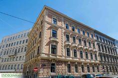 Außenansicht Projekt Kegelgasse #Wohnung #Altbau #Wien Eckhaus, Kegel, Next Door, Multi Story Building, Doors, Condominium, Real Estates, Refurbishment, Projects