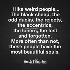 Reflexiones: beautiful weird...