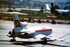 Balkan - Bulgarian Airlines Tupolev Tu-154B [LZ-BTL], 1983 Athens Hellinikon airport