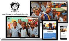 myCloud Media are pleased to announce the launch of a new responsive website for the Literary Genius Foundation based in Jamaica.
