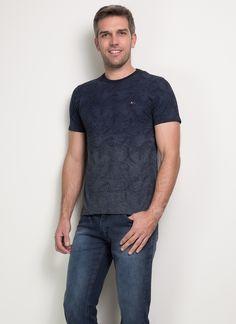 Camiseta Estampa Folhagem | Aramis