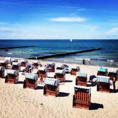 The baltic sea #mecklenburg #kühlungsborn #beachstagram #beachpics #balticsea #lifeisabeach  (hier: Strand Kühlungsborn)
