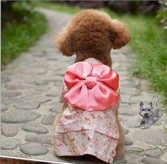New M XL Pet Apparel Japanese Silk Kimono Bow Pet Dog Cat Clothes Yorkie Costume | eBay