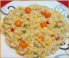 Greek Recipes, Vegan Recipes, Chicken Carbonara Recipe, The Kitchen Food Network, Oven Chicken Recipes, How To Cook Rice, Cooking Time, Fried Rice, Food Network Recipes