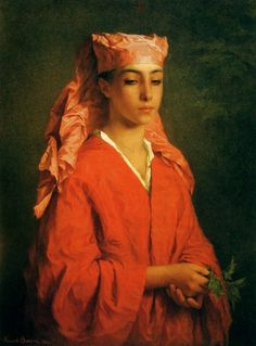 Henriette Browne ( 1829-1901 ), 1867, Fellah nord-africaine.