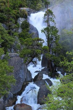 Cascade Creek, Yosemite National Park;