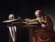 Caravaggio love the skull