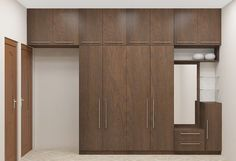 58 Trendy Bedroom Wardrobe With Dressing Table Wardrobe Door Designs, Wardrobe Design Bedroom, Bedroom Furniture Design, Furniture Ideas, Modern Furniture, Bedroom Ideas, Shelf Furniture, Modern Wardrobe, Furniture Dolly