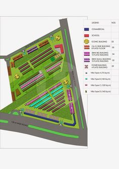 Supertech Sports Village Site Plan - Property Guru Delhi NCR