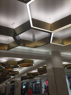 Ceiling tech in 2019 ceiling design hotel ceiling interior. Design Food, Gym Design, Ceiling Detail, Ceiling Design, Zaha Hadid, Hotel Ceiling, Shop Interior Design, Design Hotel, D House