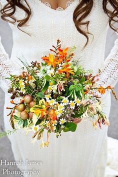 Shellie, wild and rustic wedding bouquet Bride Bouquets, Rustic Wedding, Wedding Flowers, Table Decorations, Home Decor, Image, Bridal Bouquets, Decoration Home, Room Decor