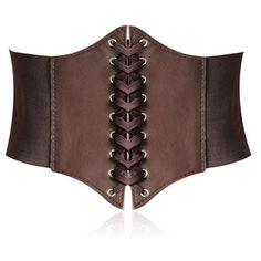 Toptie Lace-up Corset Style Elastic Cinch Belt -COFFEE - [ http://steampunk.storopa.com/toptie-lace-up-corset-style-elastic-cinch-belt-coffee/ ]  #Belt, #Cinch, #COFFEE, #Corset, #Elastic, #Laceup, #Style, #Toptie