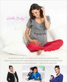 Sichern Sie sich mit der WUNDERTÜTE von Eltern einen niedlichen Baby-Body aus Bio-Baumwolle mit der nächsten Bestellung unter bonprix