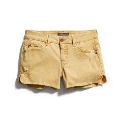 Stitch Fix New Arrivals: Yellow Denim Shorts