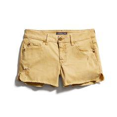 Stitch Fix New Arrivals: Yellow Denim Shorts