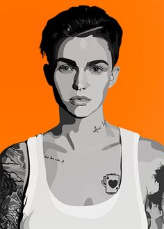 Ruby Rose as Stella Carlin — graceteaneyart: Ruby This is some really nice...