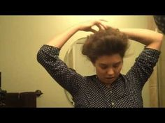 Vintage Hairstyles Tutorial Edwardian/Anne of Green Gables hairstyle tutorial. More detailed but excellent! Anna Green, Vintage Hairstyles Tutorial, Pompadour Hairstyle, Anne Shirley, Gibson Girl, Anne Of Green Gables, Girl Hairstyles, Amazing Hairstyles, Hair Dos