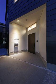 玄関ポーチ-外観(葛飾 Y-HOUSE 新築工事)- 外観事例|SUVACO(スバコ)