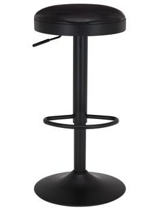 Create a comfortable space at your kitchen-island or in your home entertainment area with the Luca Jupiter Barstool. It features a powder coated metal frame, PU seat and a gas lift for height adjustment.