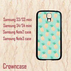 Samsung Galaxy S5 case,pineapple,Samsung Galaxy Note 3 case,Samsung Galaxy S4 case,Samsung Galaxy S3 mini case,Samsung Galaxy S4 mini case. by CrownCase88, $14.99