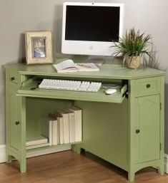 French Country Corner Computer Desk