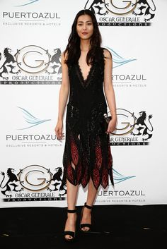 CANNES DAY Liu Wen in Roberto Cavalli at Robert Cavalli's yacht party at the Cannes Film Festival on May Liu Wen, Yacht Party, Hotel S, Cannes Film Festival, Red Carpet Fashion, Roberto Cavalli, Asian Beauty, Celebrity Style, Celebrities