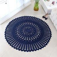 Tapete Blue em Crochê por Marcelo Nunes