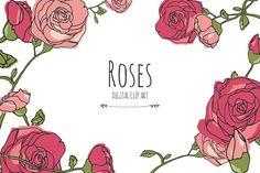 Roses - Digital Clip