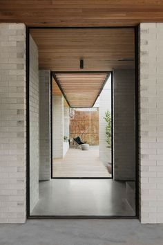 This New Addition Creates a Sunny Courtyard Shared by Old and New