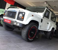 Land Rover Defender Wide Track in Fuji White with the 1945 wheels @signaturetechniques  #signaturetechniques #kahnuae #uae #uaecars #abudhabi #mydubai #abudhabicars #dubai #dubaicars #arabcars #saudicars #ksa #riyadh #jeddah #kuwait #qatar #bahrain #customcars #modifiedcars #luxury #blacklist #carporn #landrover #landroverdefender #bespoke #luxurylife #millionaire #vip #kahndesign  @cargramm @topspeedkw @saudispeed @topperformance @carinstagram @black_list @arabgarage @motory_magazine…