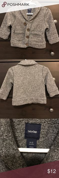 Baby GAP Sweater Baby fleece sweater. 6-12months. So cozy! Excellent used condition. GAP Shirts & Tops Sweaters