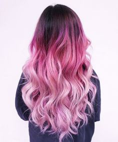 30 stylish hairstyles and hairstyles for girls over 30 Related posts: 50 unique hairstyles for long hair 50 unique hairstyles for long hair 30 Best Hairstyles for Heart Shaped Faces … crazy hair color, gorgeous thick lapis hair in a … Dyed Hair Ombre, Pink Ombre Hair, Hair Color Pink, Dye My Hair, New Hair, Ombre Color, Long Pink Hair, Blonde Color, Hair Color For Asian