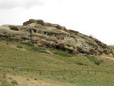 Chief Joseph Scenic Highway; Eroded Sandstone