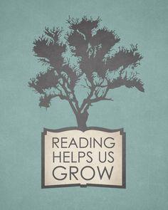 'Nos ayuda a crecer' kortom lezen doet je goed :-)