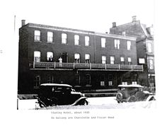 Stanley Hotel in Pictou, Nova Scotia, Canada owned by Simon Christian Lott jr My great grand uncle Birth 8 Feb 1860 Death 7 Aug 1929 and his wife Theresa