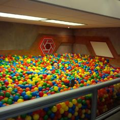 An adult ball pit! Now I know what to do with the unfinished basement…