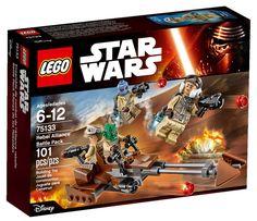 Comparez les prix du LEGO Star Wars 75133 Pack de combat de l'Alliance Rebelle avant de l'acheter ! Infos, description, images, vidéos et notices du LEGO 75133 Pack de combat de l'Alliance Rebelle sur Avenue de la brique