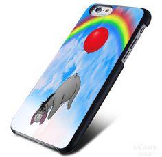 Disney Winnie The Pooh Eeyore on Sky Rainbow iPhone Cases Case