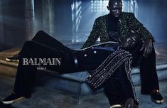 balmain 2015 collection | Brothers Armando and Fernando Cabral star in Balmain Fall/Winter 2015 ...