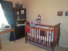 Baby Boy Americana Baseball Nursery