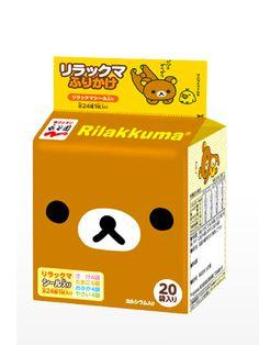 5,35 Furikake Love Rilakkuma Bento | 20 Sobres
