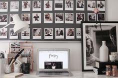 a polaroid office wall – Frassy