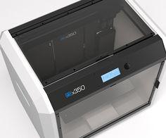 German RepRap Unveils New X350 3D Printer http://3dprint.com/60995/german-reprap-x350/